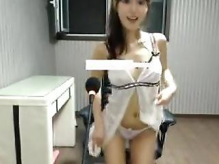 Playful Adorable Korean Girl-