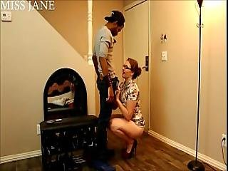 Cucked By The Neighbor Blowjob Pussy Eating Fucking Miss Jane Judge
