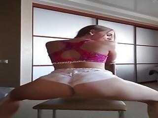 Julia Kul Chair Ride Twerk