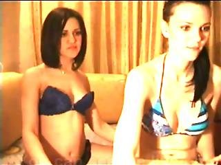 Two Horny Hot Girls In Action