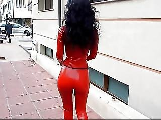 Amateur, Babe, Latex, Outdoor