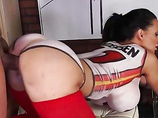 Basketball Bodypainted Milf?from=video Promo
