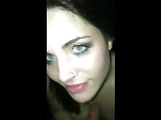 amateur, pipe, brunette, tromper, éjaculation, exgf, Ados