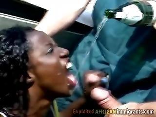 Enjoying Pissdrinking