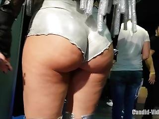 Slutty Dressed Girls In A Festival, Perfect Candid Sexy Girls In A Festival