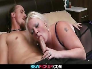 Cock Hungry Bbw Seduces Hunky Man