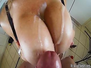 Big Tits Covered In Jizz Hall Of Fame Milf Vicky Vette