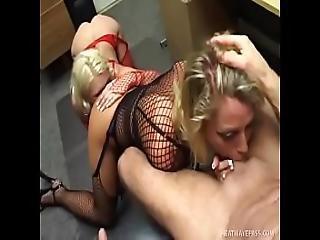 Chelsea Zinn And Friend Sucks One Big Beautiful Cock