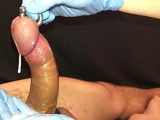 Handjob Masterclass - Fat Pierced Cock - Prince Albert - Ruined Orgasm!