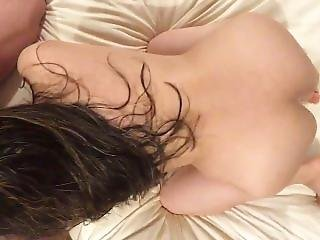 Sexy Mexican Wife Sucking My Cock