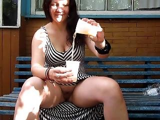 I And My Guy Pissing In A Cup For You;)
