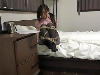 Japanese Pantyhose Bondage 2