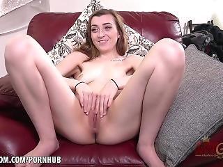 Cameron Minx Rubs Her Tasty Pussy