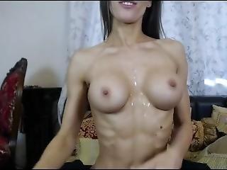 amatör, brud, vacker, mogen, solo, webcam