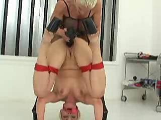 Mistress Giving Her Slave A Good Lesson