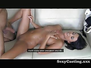 Amateur, Business Woman, Casting, Cumshot, Pov
