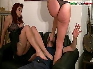 Maintenance Works - Part 3- Foot Fetish Trample