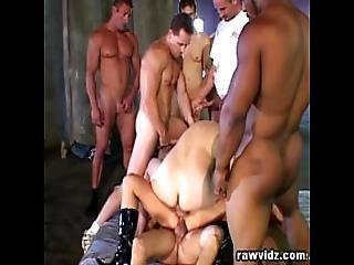 Five Cocks For One Slut Rough Gangbang Dp Fucking