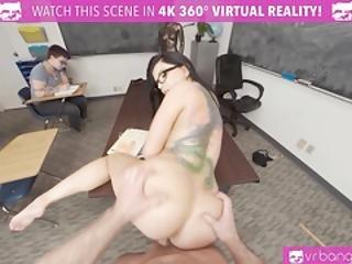 Vrbangers.com-sexy Teacher Romi Rain Getting Rammed By A Sexy Stud