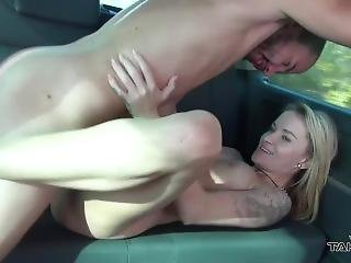 Gorgeous Czech Babe Got Her Pussy Pounded Really Hard In A Sex Van