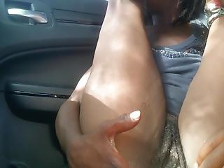 Car Pussy Show