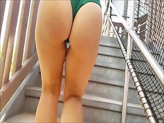 Candid Two Thick Bikini Ass Girls