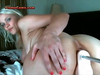 Perverted Blonde Milf