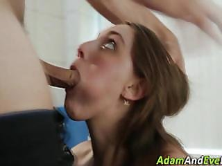 Hot Sweetie Cum Covered