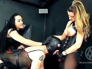 Mistress Whiplash - Strap-on Spitroast Slave