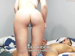 fille webcam, couple, webcam