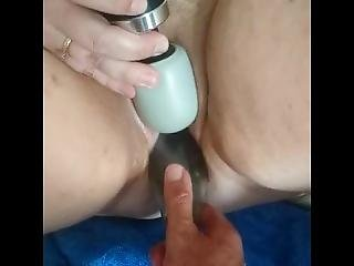 I Push A Wine Bottle Up Her Pussy