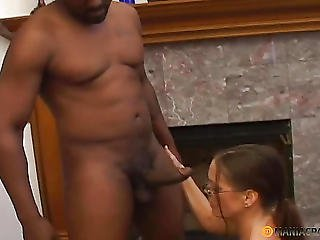 My Aunt Sat Down On His Knees Sucking Black Dick