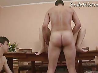 Bisexual Humiliation Threesome