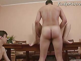 Bisexual Humiliation Threesome