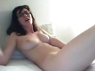 Busty Nerdy Girl 05