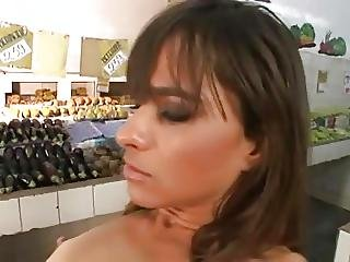 Porn Grocery Store Where Cashier And Costumer Is A Whore