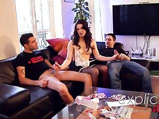 Threesome, Anal And Dp For French Babe Tiffany Doll