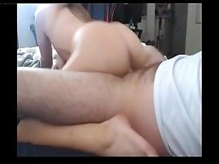 Perfect Ass And Beautiful Pussy Gf Sucking And Fucking