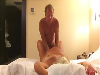 Horny Chunky Cougar Getting Fucked Hard Doggystyle