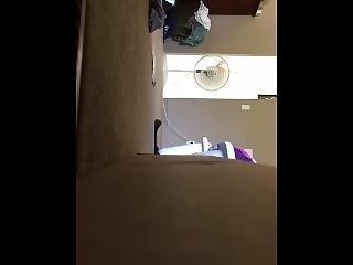 Pregnant Neighbor Spied Through Window