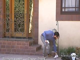 Dude Ties Up And Anal Fucks Big Ass Neighbor