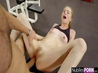 Cute Nympho Begs For Cock At The Gym Gym Selfie S16 E10
