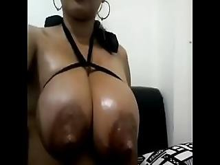 Super Tit Babe Making A Milky Mess