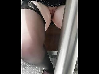 Pissing Under Table At Restaurant Againn
