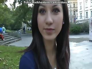 Barna, Baszás, Jó Mellek, Szabadtéri, Publikus, Szex