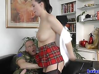 British Mature Assfucked In Her Sexy Uniform