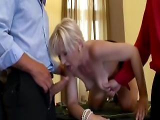 Mature Babe Takes On A Lot Of Cock Ddf Productions