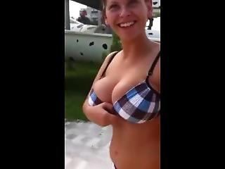 Amateur, Nette Titten
