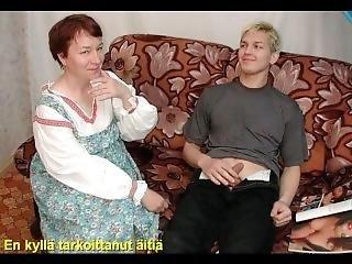 Slideshow With Finnish Captions: Russian Mom Tamara 1