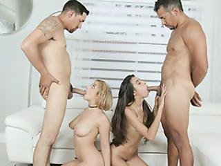 Teen Marilyn Mansion And Victoria Vargaz Fucked Up Their Pops Dates